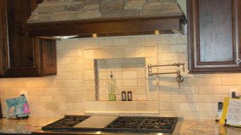 Extensive Kitchen Remodel, range