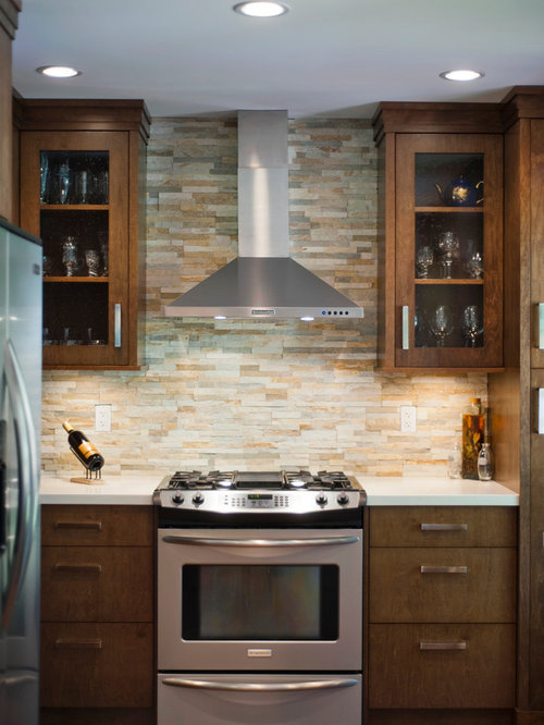 Ledge Stone Backsplash Houzz