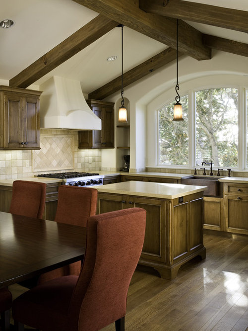 Tumbled Travertine Tile Home Design Ideas Pictures