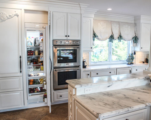 Large Shabby Chic Style Kitchen Design Ideas Renovations