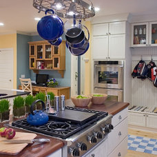 Traditional Kitchen by Jonathan Caron Construction, Inc.