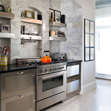 Contemporary Kitchen by ThinkMakeBuild