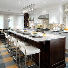 Transitional Kitchen by Brandon Barré Architectural Interior Photographer