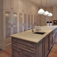 Traditional Kitchen by Edgemoor Custom Builders