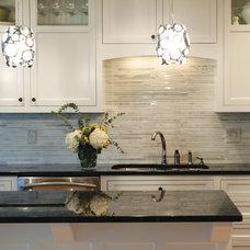 Transitional Kitchen by Anna Berglin Design