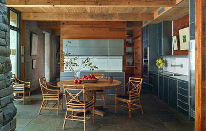 New This Week: 3 Woodsy Kitchens That Welcome You In
