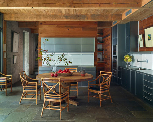 Contemporary Eat In Kitchen Remodeling   Inspiration For A Contemporary  Eat In Kitchen Remodel