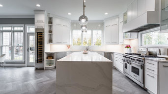 Fairfax Contemporary Kitchen, Pantry & Mudroom