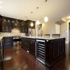 Traditional Kitchen by Jessica Berry Design