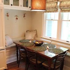Traditional Kitchen by Tara Veith Design, LLC