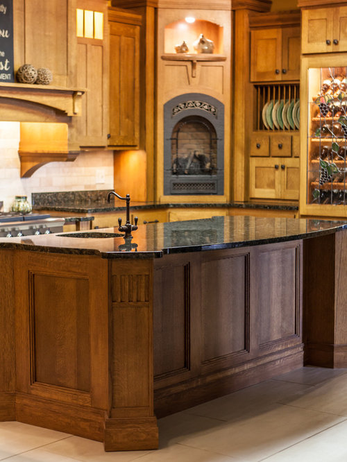 stained kitchen cabinets showroom mission kitchen in quarter sawn oak 2461
