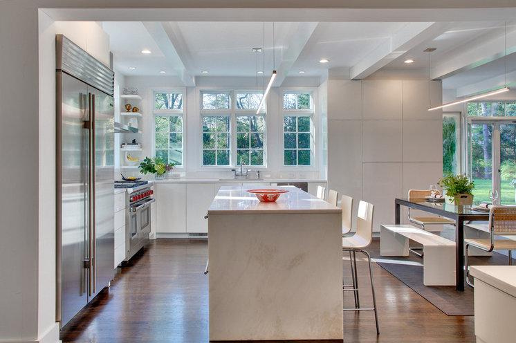 Contemporary Kitchen by Sellars Lathrop Architects, llc