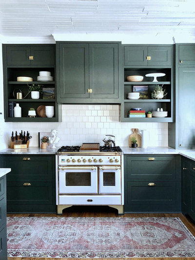 Transitional Kitchen by Urbanology Designs