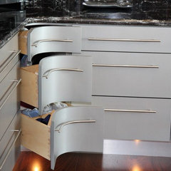 modern kitchen cabinets by Grace Blu Designs, Inc.