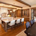 Fairytale Tudor Traditional Living Room Minneapolis
