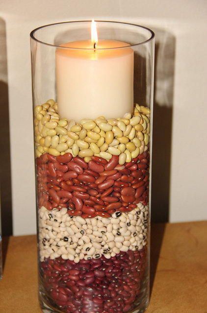 Traditional Kitchen Fall Candle - Using Beans