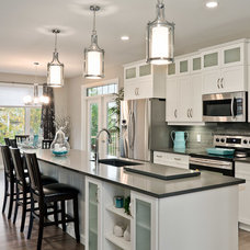 Transitional Kitchen by Hanover Homes