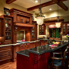 Traditional Kitchen by Anthemion Architecture LLC