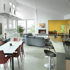 contemporary kitchen by Kaplan Thompson Architects