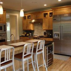 Contemporary Kitchen by Robin Amorello, CKD CAPS - Atmoscaper Design