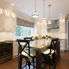 Traditional Kitchen by Kenorah Design + Build Ltd.