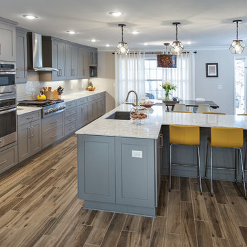Family Friendly Kitchen and Living Area Remodel