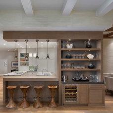 Beach Style Kitchen by W Design Interiors
