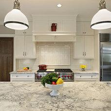 Traditional Kitchen by Lisa Wolfe Design, Ltd