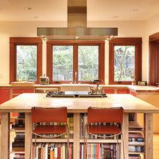 Craftsman Kitchen by Alexandra Immel Residential Design LLC