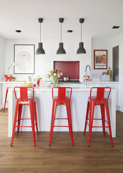 Contemporary Kitchen by Lynsey Jane Designs