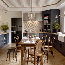 Transitional Kitchen by Jute Interior Design