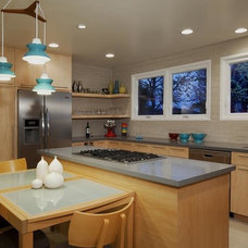 Contemporary Kitchen by Sybil Jane Barrido, ASID, CID - SJVD DESIGN