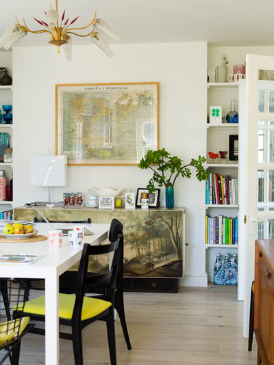 Eclectic Kitchen by Anna Standish Interiors