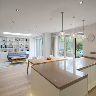 Contemporary Kitchen By Sue Murphy Interiors