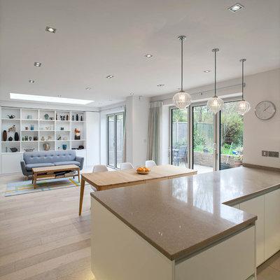 Ugens køkken: Et engelsk dobbelthus har fået en moderne udvidelse