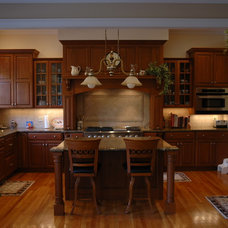 Traditional Kitchen by Christopher D. Marshall Architect, LLC