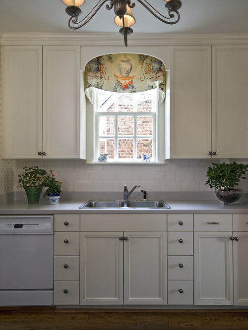 Arched Valance Over Sink Ideas, Pictures, Remodel and Decor