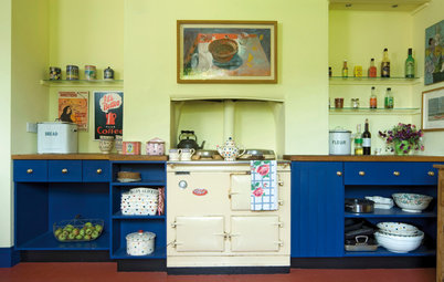 Ideas to Steal From Your Fantasy Vacation-Cottage Kitchen