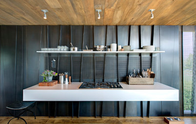 12 Stylish Kitchen Counters That Seem to Float in Space