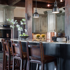 Rustic Kitchen by Donna F. Boxx, Architect, P.C.