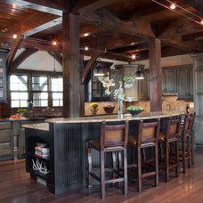 Rustic Kitchen by Donna F. Boxx, Architect, P.C.
