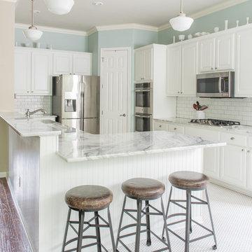 Farm House inspired kitchen in North Austin