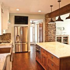 Rustic Kitchen by Precision Enterprises, Inc.