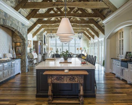 Farmhouse Country Kitchen Design Ideas, Remodels & Photos ...