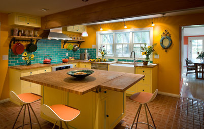 Kitchen of the Week: From Style Mishmash to Streamlined Farmhouse