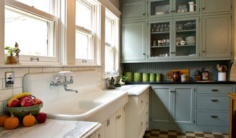 Farm Sink & Complementary Cabinets