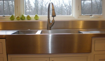 Farmer Style Stainless Steel Kitchen Countertop