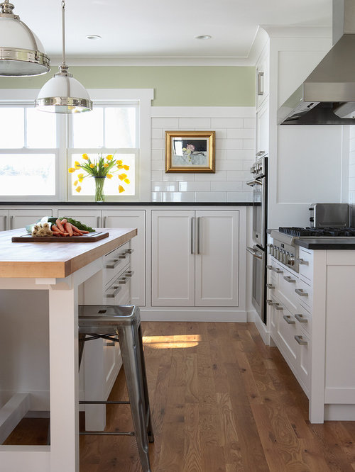 White Kitchen Oak Floor natural white oak floor | houzz