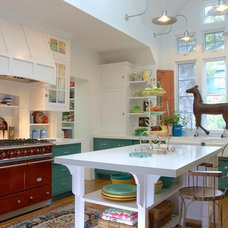 Farmhouse Kitchen by Alison Kandler Interior Design