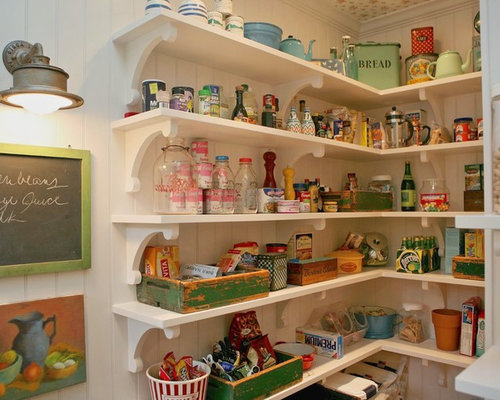Old Fashioned Pantry Houzz